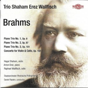 Trio SEW Brahms CD cover